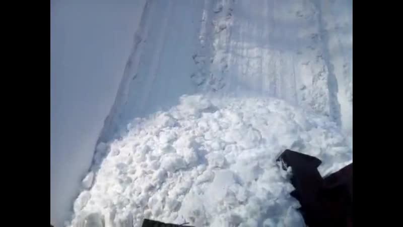 Чистка путей Автор видео Kosty Agafonov