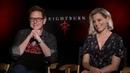 James Gunn and Elizabeth Banks | Brightburn Interview (Exclusive)