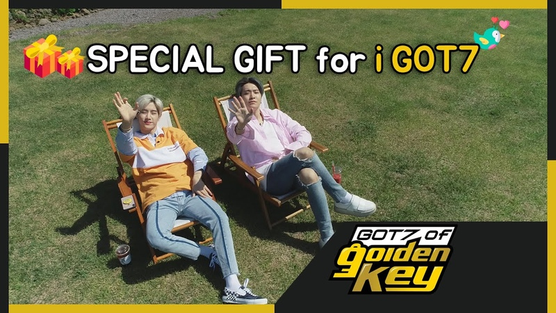 GOT7 of Golden Key teaser Special gift for iGOT7 아가새를 위해 제주도로 떠난 갓세븐