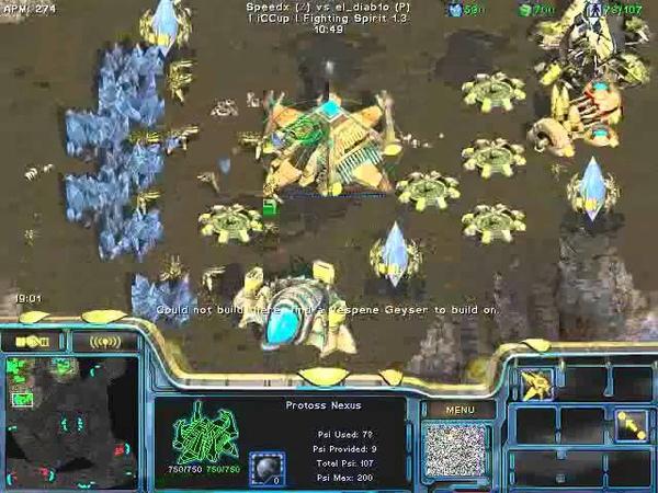 FPVOD REPS Tama vs Speedx PvZ Game 5 Starcraft Brood War 2015