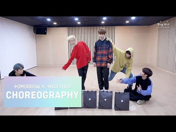 TXT (투모로우바이투게더) 'Cat Dog' Dance Practice (Animal ver.)