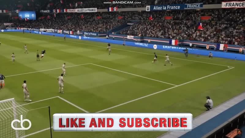 Плавная анимация вратаря FIFA 19