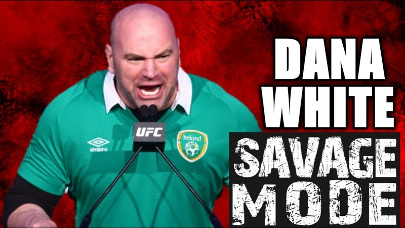 🖕🤬WHEN DANA WHITE ENTERS SAVAGE MODE🤬🖕 (UFC Compilation)