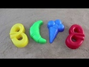 Learn Colors for Children Sand Molds kurosan Finger Family
