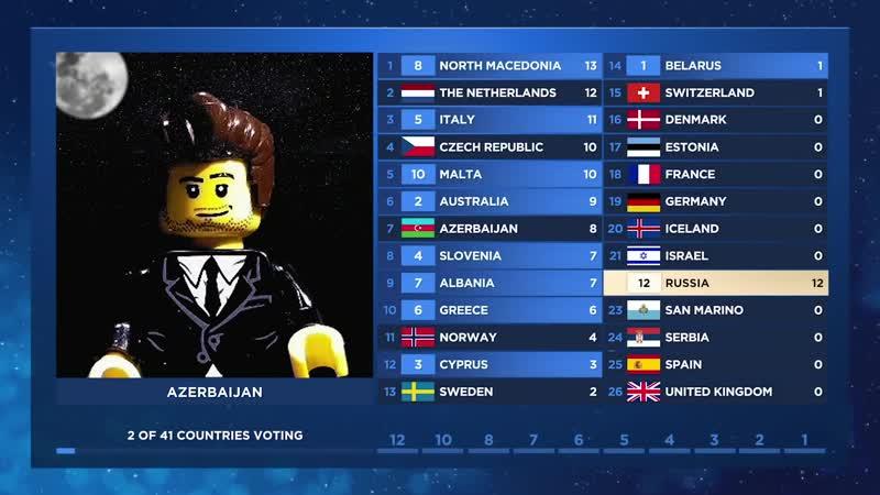 LEGO Eurovision 2019