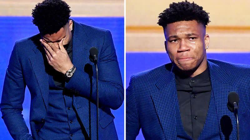 Giannis Antetokounmpo's Emotional Speech After He Wins the MVP Award at 2019 NBA Awards
