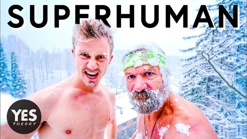 BECOMING SUPERHUMAN WITH ICE MAN - Wim Hof