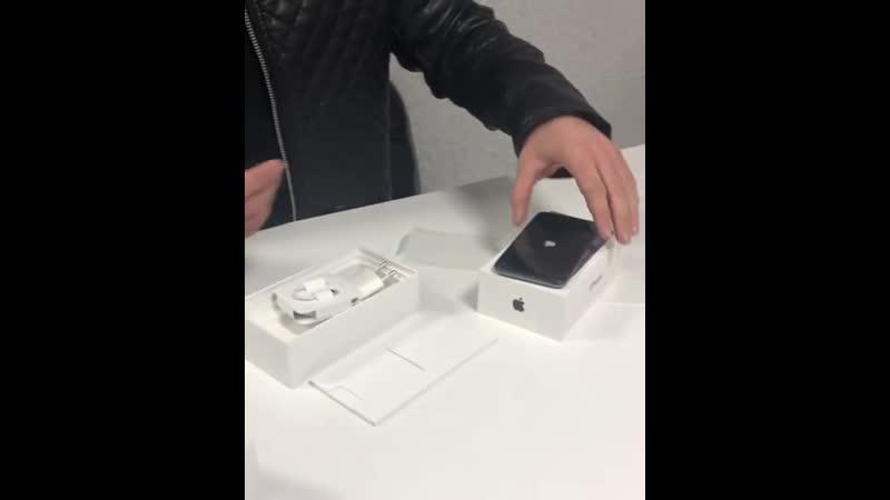 Доброе утро☀️ Видео-распаковка нового iPhone X и Apple Watch series 4 от нашего клиента Николая