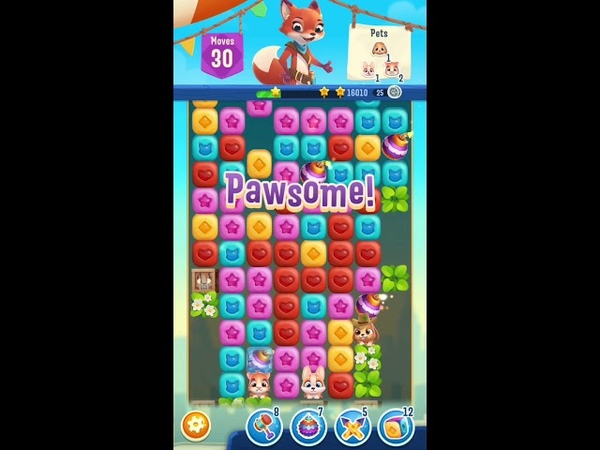 Pet Rescue Puzzle Saga Level 264 Gameplay iOS Android