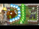 Coconut Cannon, Bonk Choy vs Torchwood vs All Zombies - Pvz 2