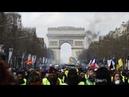 LIVE Gelbwesten Protest Akt XXIX Demonstration in Paris zum 29 Mal in Folge YouTube