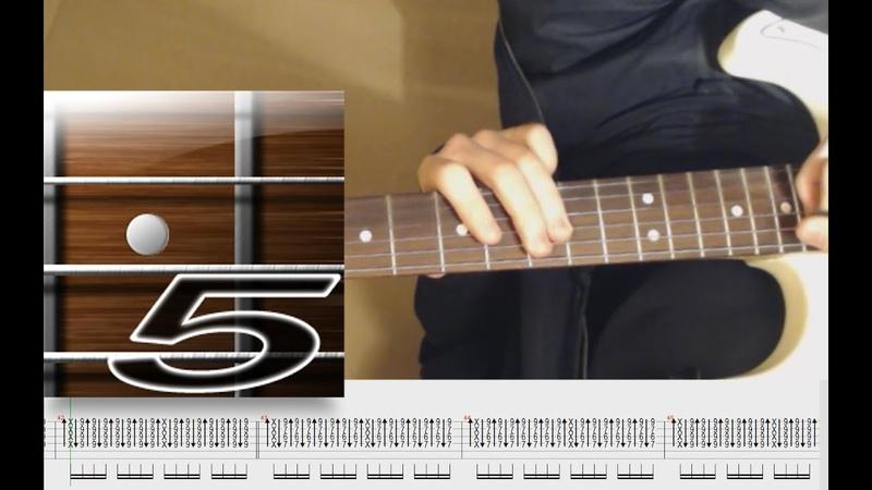 Разбор соло гитары. Группа крови - Кино (В.Цой).