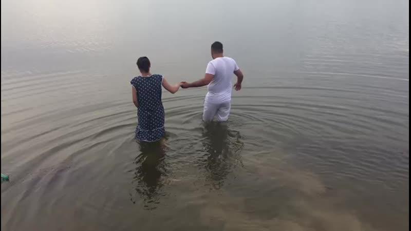 Крещение в Благодарном