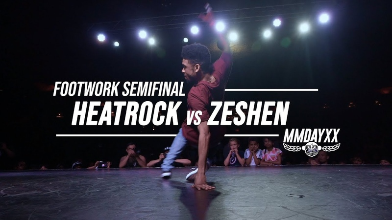 Heatrock vs Zeshen Semifinals Footwork Battle .stance Massive Monkees 2019
