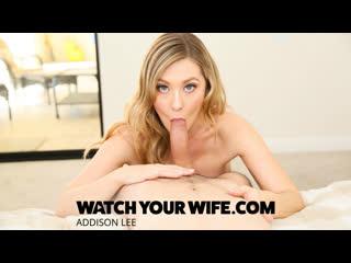 [watchyourwife] addison lee - addison lee fucks the pool boy while husband watches newporn2019