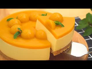 Чизкейк с манго mango cheesecake
