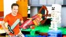 Игры для детей - Прятки в мире Майнкрафт Лего! - Новое шоу про Школу Супергероев