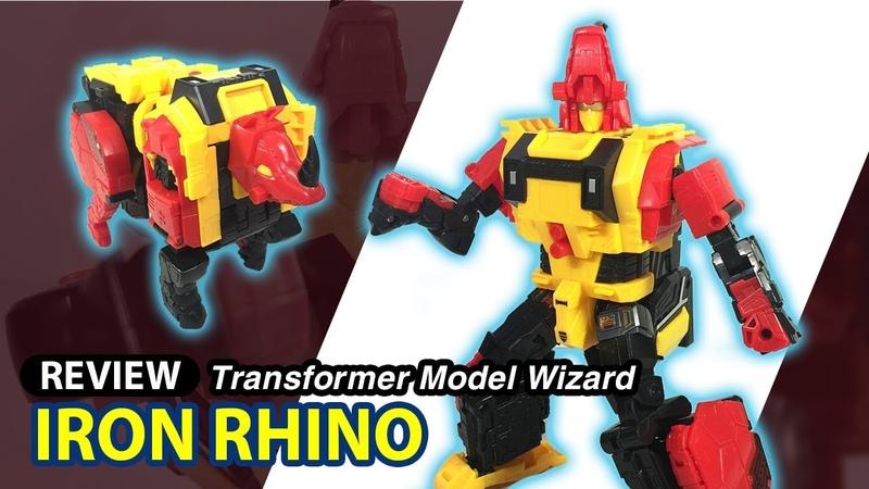 Transformer IRON RHINO aka HEADSTRONG Review Model Wizard WeiJang