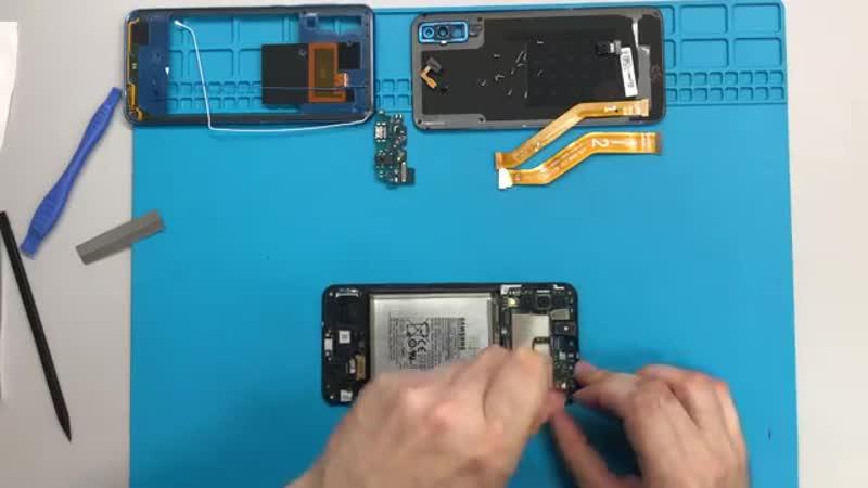 Разборка Samsung А50 SM-A505FN _ Samsung Galaxy А50 Teardown