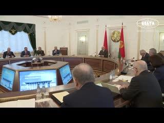 Президент: необходима эффективная деятельность по обеспечению информационной без