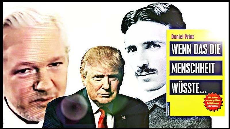 Donald Trump Mysteriöse Verbindungen zu Nikola Tesla und Julian Assange