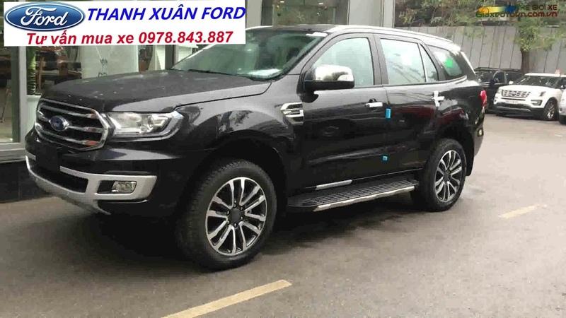 Giá xe Ford Everest 2 0 Bi Tubor 2019 nhập khẩu Thái Lan với 1 399 tỷ full options và tính năng