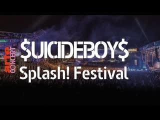 """Выступление $uicideboy$ на """"splash! festival"""""""