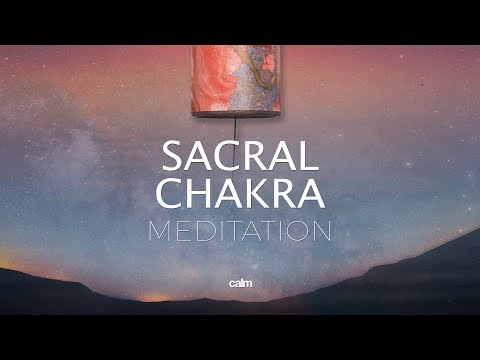 Sacral Chakra Healing Wind Chimes Meditation Feel Sense of Beauty Within and Around You