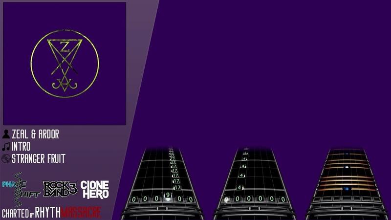 [CH\PS\RB3] Zeal Ardor - Intro (Guitar/Bass/Drum Chart)