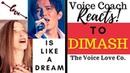 Voice Coach Reacts Dimash Kudaibergen Love is Like A Dream Christi Bovee