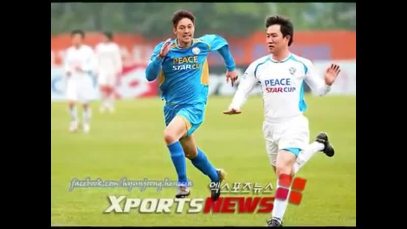 (ss501)Kim Hyun Joong-playing soccer
