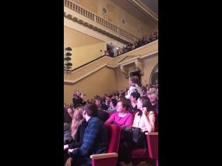 Девушка перепела Нино Катамадзе на концерте в Екатеринбурге