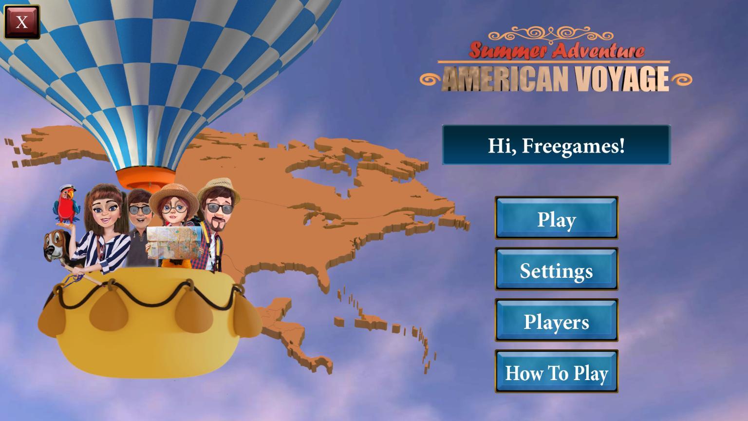 Летнее приключение: Путешествие по Америке | Summer Adventure: American Voyage (En)