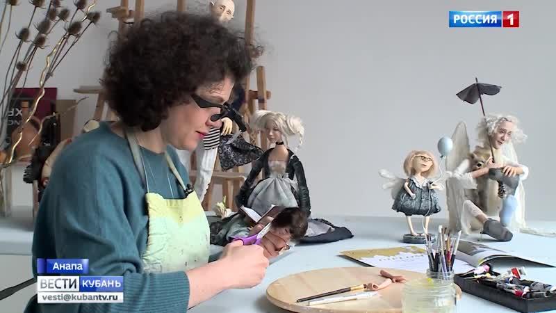 Ангел и Щенок кубанская художница покорила Международную кукольную выставку в Праге