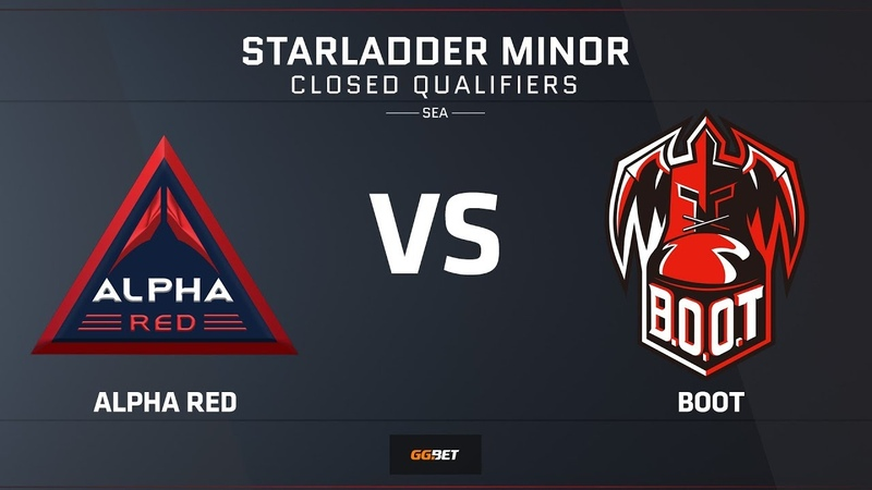 [RU] Alpha Red vs BOOT | Map 2 – Mirage | Asia Minor SEA Closed Qualifier – StarLadder Major 2019