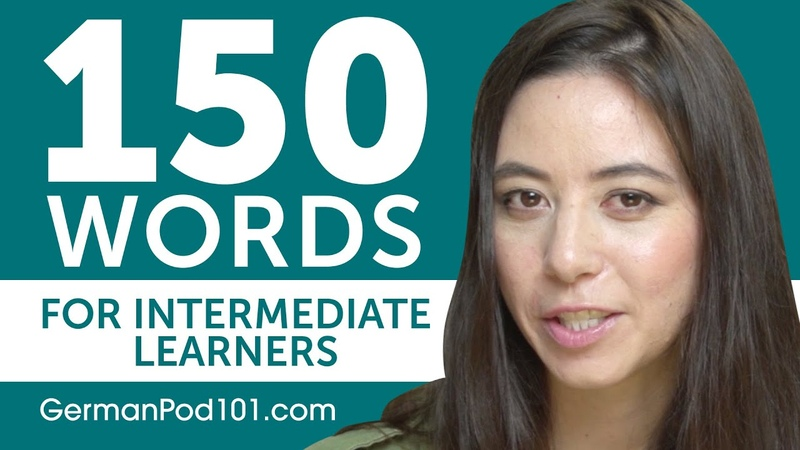 150 Words for Intermediate German Learners