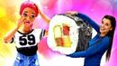 Играем с Барби Маша и Тереза готовят суши. Ох, уж эти куклы - Лайфхаки для Барби