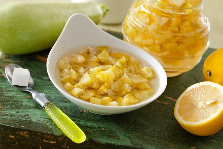 Варенье из кабачков с лимоном на зиму: обалденно вкусное, как варить правильно