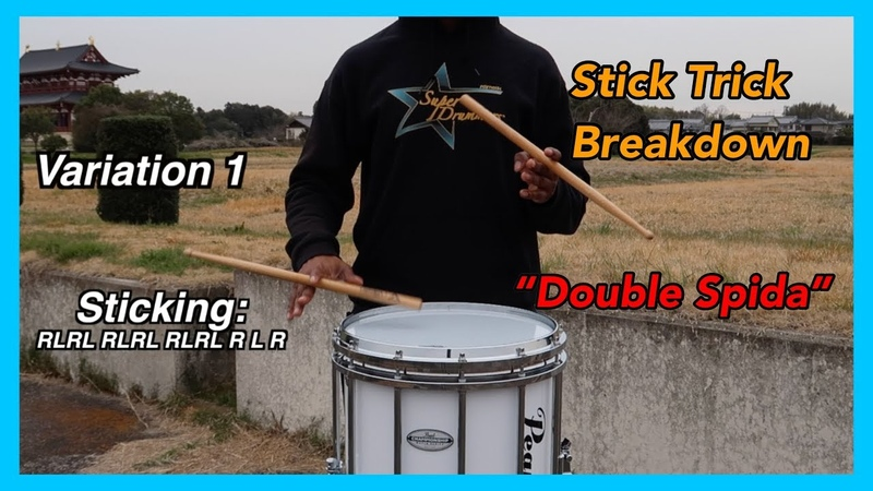 5 USEFUL Double Spida Variations | Stick Trick Breakdown