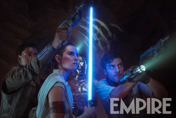 Рей, Финн и По на свежем кадре блокбастера «Звездные войны: Скайуокер. Восход»