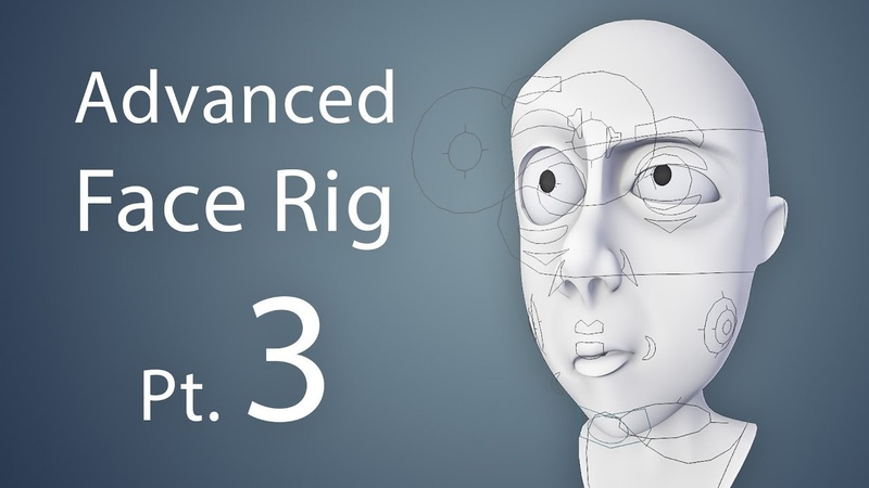 CGCookie: Creating an Advanced Face Rig Pt. 3 (Blender 2.6)