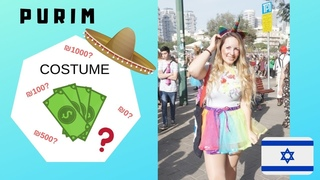 Purim time! :) How much money did you spend on your costume?