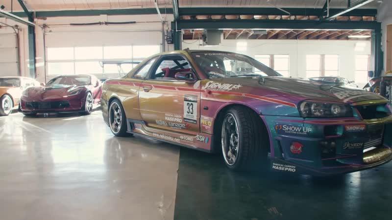 Jalopnik This R34 Nissan Skyline GT R Is a JDM Tuner's Wildest Dream Signal Auto FD R34
