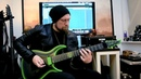 The Watcher Andy James demoing the Kiesel Polarity active coil split pickups