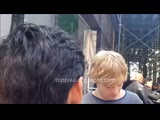 Ross Lynch signs autographs for TopPix