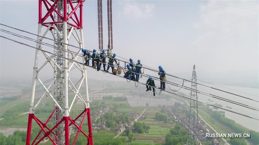 Уникальный объект - ЛЭП постоянного тока 1100 кВ