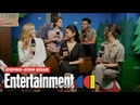 'Nancy Drew' Stars Kennedy McMann Leah Lewis Cast Join Us LIVE SDCC 2019 Entertainment Weekly