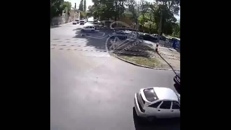 Сбили двух пешеходов, Ульяновск