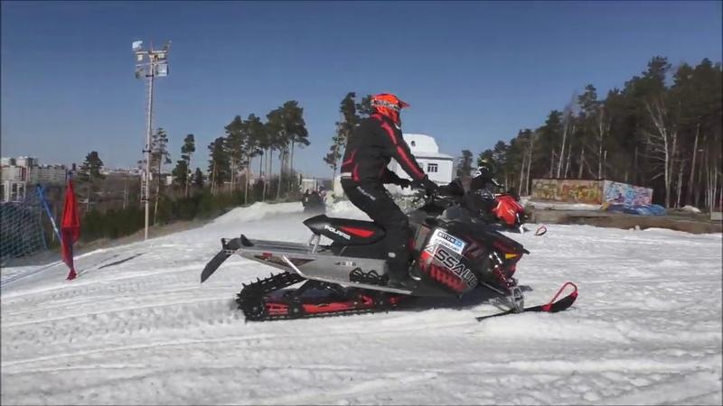 ГЛК Уктус Закрытие сезона 2019   Соревнования на снегоходах