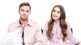Lily Collins &amp Nicholas Hoult Answer the Web's Most Searched Questions WIRED